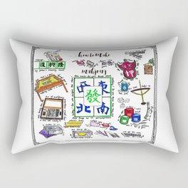 How to make Mahjong? Rectangular Pillow