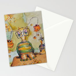 just a goofball... or two Stationery Cards