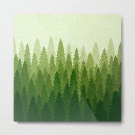 C1.3 Pine Gradient Metal Print