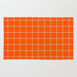 Flame Grid Rug