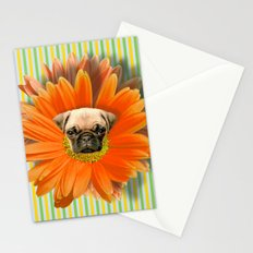 Pistil Pug Stationery Cards