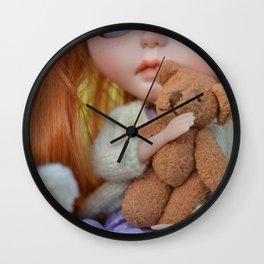 Robin - This is my teddy Wall Clock