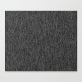 Black Fibre Canvas Print