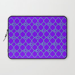 Purple & Green Pattern 1 Laptop Sleeve