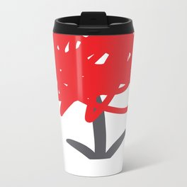 Flower of frustrations Metal Travel Mug