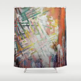 Stained Art Shower Curtain