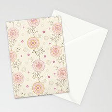 Folky Flowers Stationery Cards