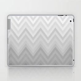 Chevron Fade Grey Laptop & iPad Skin