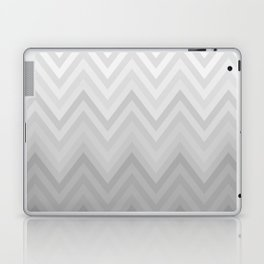 Chevron Fade Grey Laptop & iPad Skin
