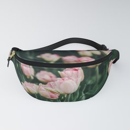 Blush Tulips By The Dozen Fanny Pack