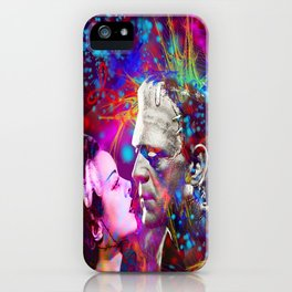 Frankenstein`s Bride iPhone Case