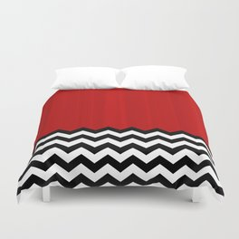 Twin Peaks - The Red Room Duvet Cover