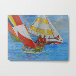 Carriacou Regatta Metal Print