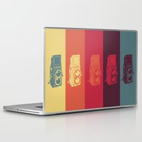 camera Laptop & iPad Skins featuring Camera. by Tuky Waingan