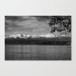 Olympic Mountains fine art print Canvas Print