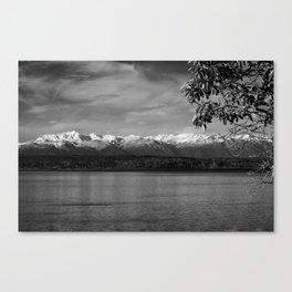 Olympic Mountains fine art print Canvas Print