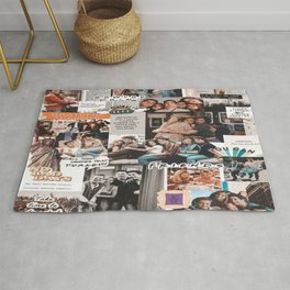 friends wallpaper Rug