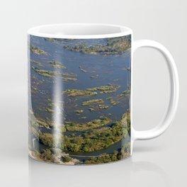 Flight over the Victoria Falls, Zambia Coffee Mug