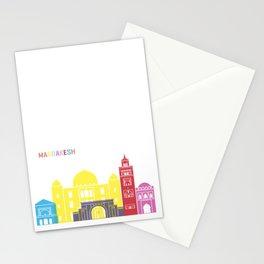 Marrakesh skyline pop Stationery Cards