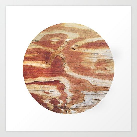 Planetary Bodies - Wood Art Print