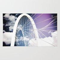 dallas Area & Throw Rugs featuring New Dallas Landmark! by eddiek3