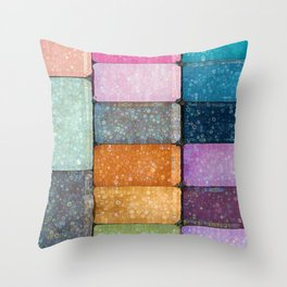 make-up colors Throw Pillow