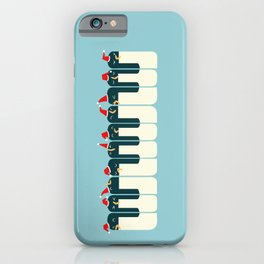 The Penguin Choir iPhone Case
