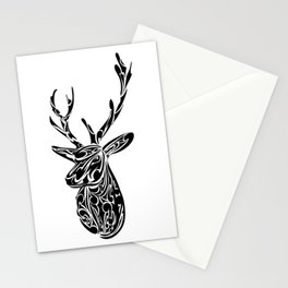 Koru Deer Stationery Cards