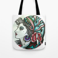 gypsy Tote Bags featuring Gypsy by David Ansted, Kosoof.
