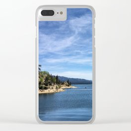 Big Bear Lake Clear iPhone Case