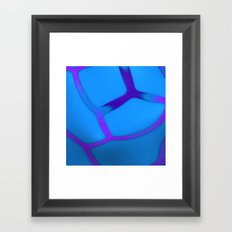 Blueberry Framed Art Print