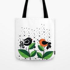 cute bird Tote Bag
