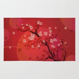 Kirschblütenzweig Rug