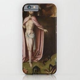 Hieronymus Bosch - Christ in Limbo iPhone Case