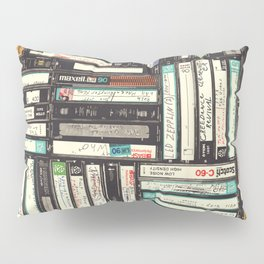 Cassettes Pillow Sham