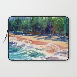 Kauai North Shore Beach 2 Laptop Sleeve