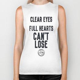 Clear Eyes Full Hearts Biker Tank
