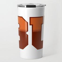 Official Bisons Ultimate alternate logo gears Travel Mug