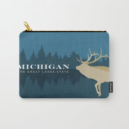 Michigan - Redesigning The States Series Carry-All Pouch