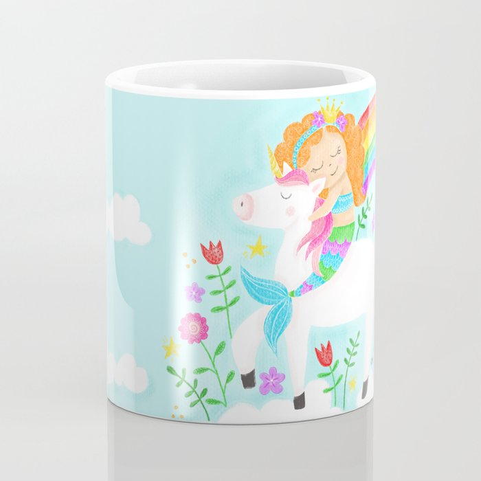 Unicorns, Mermaids & Rainbows...Oh My! Coffee Mug