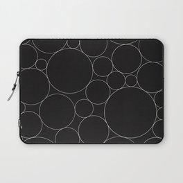 Circular Collage - Black & White I Laptop Sleeve