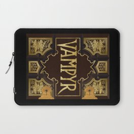 Vampyr Book -- Buffy the Vampire Slayer Laptop Sleeve