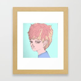 """Katchup n' Mustard""  Framed Art Print"