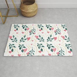 Hearts & Leaves Rug