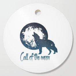 Call of the moon Cutting Board