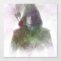arrow Canvas Prints featuring Arrow by NKlein Design
