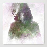 arrow Canvas Prints featuring Arrow by NKlein Design