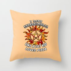 I Love Supernatural Throw Pillow