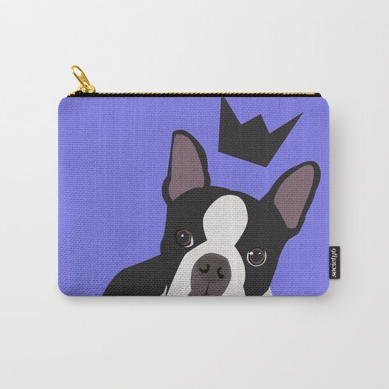 Royal Boston Terrier Carry-All Pouch