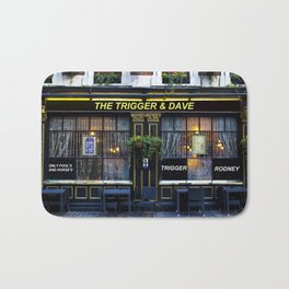 The trigger and Dave Pub Bath Mat